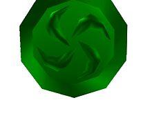The Legend of Zelda: Forest Medallion by j-sef