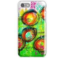 Mixed Media Abstract Painting iPhone Case/Skin