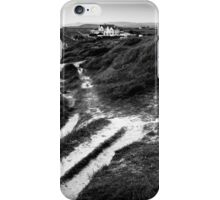 coastal path (landscape format) iPhone Case/Skin