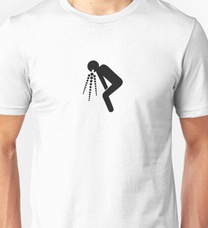 puke symbol Unisex T-Shirt
