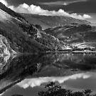 Llyn Gwynant, Wales by Dorit Fuhg