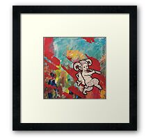 The Party Elf Framed Print