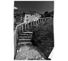 steps at Ballintoy Poster