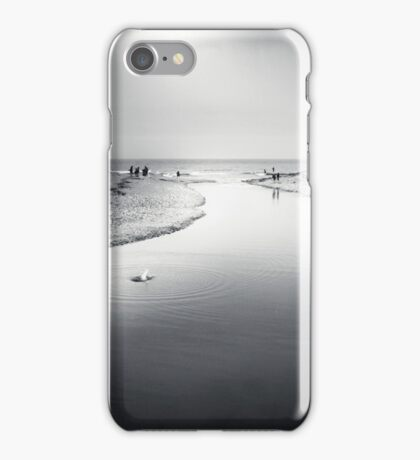 Charmouth - bw iPhone Case/Skin