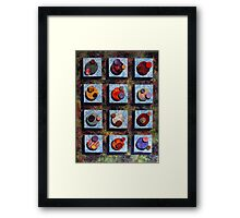 Assimulated Worlds of the Borg Framed Print