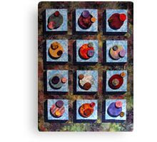 Assimulated Worlds of the Borg Canvas Print