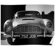 1965 Aston Martin DB5 4.2 Litre Poster