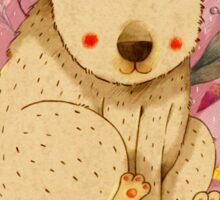 Bear with Honey-Pot Sticker