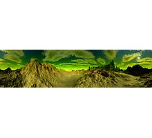 I'm Dreaming of Green Skies - A Pano Photographic Print
