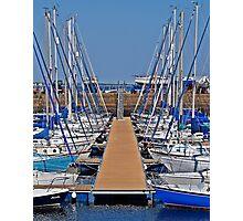 Tayport Harbour In Scotland. Photographic Print