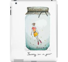 Fairy in a jar iPad Case/Skin