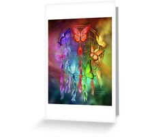 Dream Catcher - Rainbow Dreams Greeting Card
