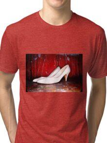 Erotic art hot sex hot red Tri-blend T-Shirt
