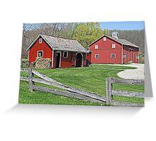 Barns of Hale Village Greeting Card