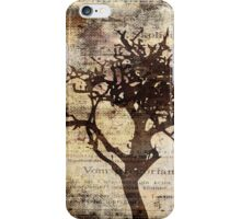 Trees sing of Time - Vintage 3 iPhone Case/Skin