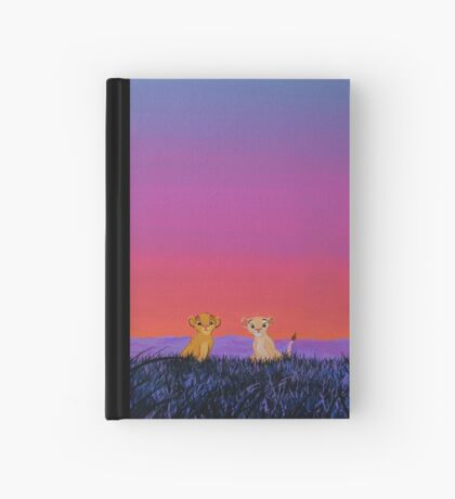 The Lion King - Simba and Nala in Savannah Hardcover Journal