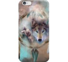 Wolf - Dreams Of Peace iPhone Case/Skin