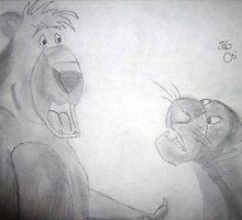 Jungle Book Sketch by Shanna J. S. Dunlap