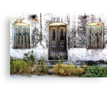 Forsaken House I Canvas Print