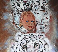 This is an Homage to Liberty & White Tigers by Shanon Padmore