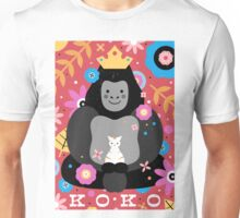 Koko the Gorilla  Unisex T-Shirt