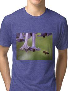 Busy bee, Somerset, Tasmania,  Australia. Tri-blend T-Shirt