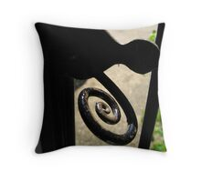 Tudor Handle Throw Pillow