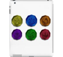The Legend of Zelda: Medallions iPad Case/Skin