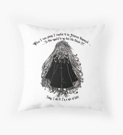 When I was young... Throw Pillow