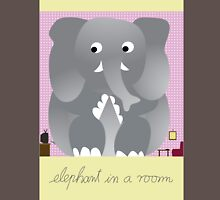 Elephant in a room Unisex T-Shirt