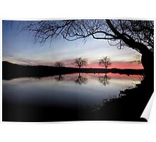 Willow Tree Twilight Poster