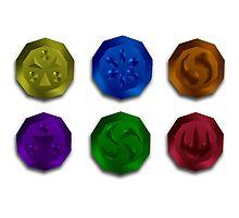The Legend of Zelda: Medallions by j-sef