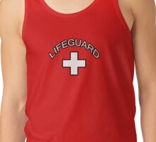 Lifeguard Sticker Lifesaver Shirt Tank Top