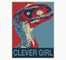 Raptor Propaganda - Clever Girl  Kids Clothes