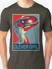Raptor Propaganda - Clever Girl  T-Shirt