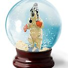 Snow Globe 4 by Margaret Orr
