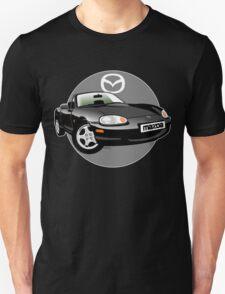 Mazda MX-5 Miata NB black T-Shirt