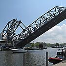 Ashtabula Lift Bridge by Monnie Ryan