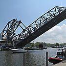 Ashtabula Lift Bridge by Monnie Ryan