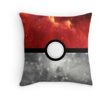 Pokéball Galaxy Throw Pillow