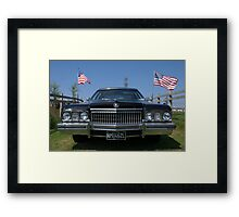 1972 Cadillac Fleetwood Framed Print