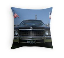 1972 Cadillac Fleetwood Throw Pillow