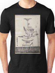 Shofu Enshuryu ikebana hamana no umi Flower Arrangement Toto Shoshi V2 1835 0025 Unisex T-Shirt