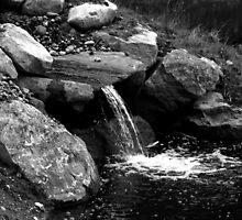Little Waterfall by Vicki Spindler (VHS Photography)