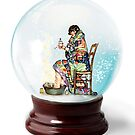 Snow Globe 5 by Margaret Orr
