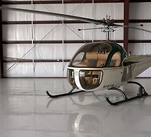 Bell 47 Helicopter by Pirate77