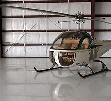 Bell 47 Helicopter by Mark Kopczewski