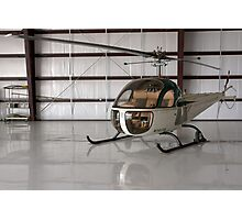 Bell 47 Helicopter Photographic Print