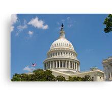 Washington D.C. Capital Canvas Print
