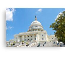 Washington D.C. Capital Building Canvas Print